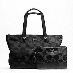 YOU PICK COLOR COACH ASHLEY WEEKENDER TRAVEL DUFFLE BAG F77327 F77321