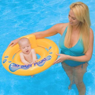 My Baby Float Inflatable Swimming Pool Floating Tube Chair Raft Toy
