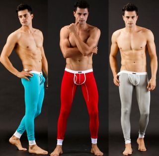 1pcs NWT sexy modal Mens Thermal Underwear long pants S,M,L(155 175c m