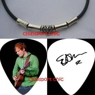 Newly listed ED SHEERAN SIGNED GUITAR PICK NECKLACE THE A TEAM , LEGO
