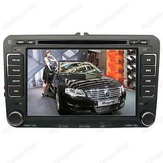 HD Digital Touchscreen GPS DVD Player For VW PASSAT B6 2005 2011
