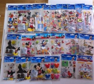 Disney Ek Success MICKEY MOUSE & FRIENDS dimensional stickers YOU PICK