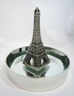 Paris Eiffel Tower Statue Jewelry Tray