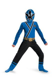 Power Rangers Samurai Blue Ranger Classic Child Costume SizeChild 7 8