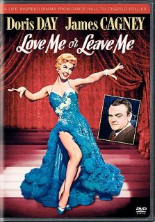 NEW dvd  LOVE ME or LEAVE Me   Doris Day James Cagney Ruth Etting