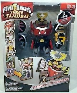 Power Rangers Super Samurai   Samurai Megazord (5 Zords Combine) By