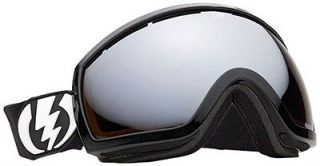 NEW Electric EG2.5 Black Silver Mirror mens ski snowboard goggles 2012