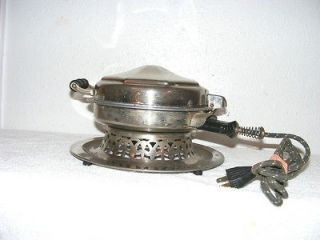 MB Manning Bowman ,working waffle maker 1920s, Serial 1 29, 660 Watts