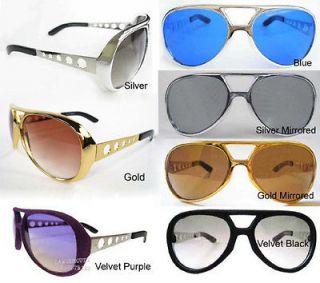 Two) Pair ELVIS Presley Classic ROCK STAR Glasses Sunglasses