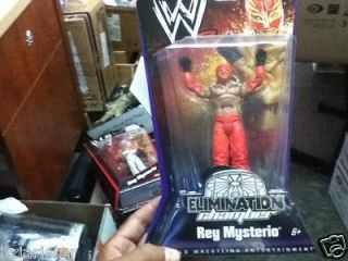 WWE WWF Wrestling Elimination Chamber Rey Mysterio Action Figure