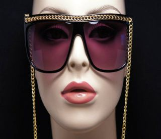 VINTAGE STYLE SNOOKI SUNGLASSES CELEBRITY CHAIN LINK DESIGN FASHION