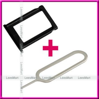 SIM Card Tray Holder Slot+silver Eject Pin for apple iPhone 3G S 3GS