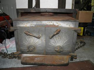 1940s KODIAK WOOD STOVE INSERT 24 LOG CAPACITY GREAT CONDITI