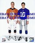 Peyton Eli Manning DENVER BRONCOS NEW YORK GIANTS NFL 8X10 Football
