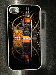 JACK DANIELS MIRRORED IPHONE 4/4S HARD CASE COVER GIFT DESIGN not