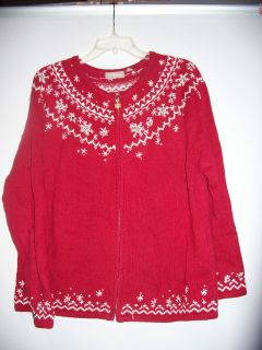 UGLY CHRISTMAS SWEATER PARTY WINNER MEN WOMEN SIZE XL EXTRA LARGE