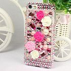Newly listed New Rose Flower Crystal Rhinestone Hard Case Cover For