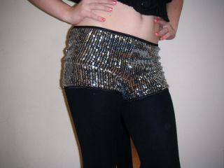 NEW HIGHWAISTED SILVER SEQUIN HOT PANTS/SHORTS SZ  14