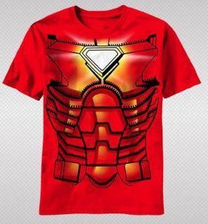 NEW Marvel Iron Man Core Armor Suit Costume Tony Stark Avengers Youth