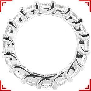 LUCIDA Style 4 carat Diamond Ring Eternity Band 16 x .25 ct Size 6.25
