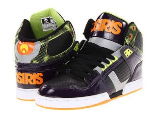 Osiris NYC83 NYC 83 Hi High Top Purple Lime Orange Skate Shoes BNIB