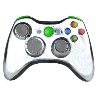 XCM Wireless Controller Shell V1 Chrome Green with Auto Fire for XBox