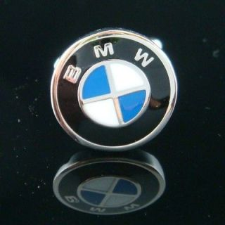 Newly listed BLACK ENAMEL BMW CAR SYMBOL EMBLEM SILVER CUFF LINKS