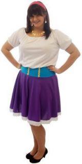 ESMERALDA FAIRYTALE/GYPSY FANCY DRESS COSTUMES PLUS SIZES 18 40
