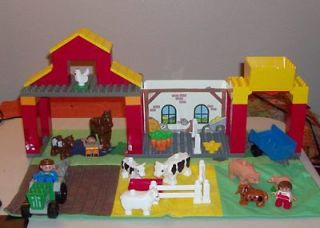 Lego Duplo   Explore Farm Set with Cloth Play Mat   Hard to Find set