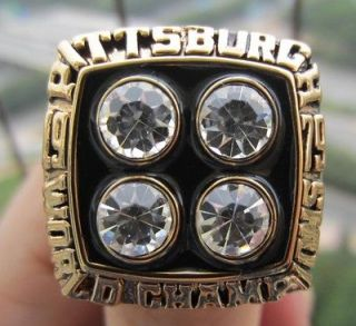 1979 Pittsburgh Steelers Super Bowl Championship Ring Football NFL