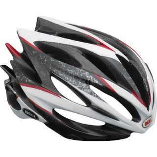 2013 Bell Sweep Road Bike cycling Helmet black white red sparker