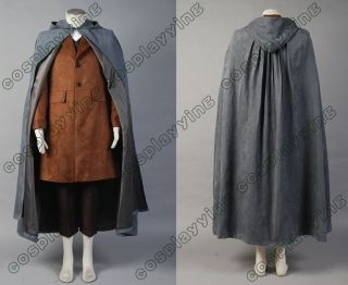 The Lord of the Rings Frodo Baggins Cape Coat Costume Set