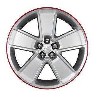 21 Wheel EA287 Front Silver/Red 5 Spoke 2011 2012 Chevy Camaro