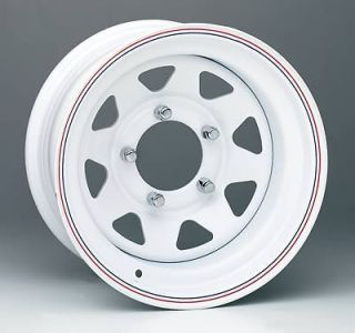 Wheel 70 Series White 8 Spoke Wheel 16x7 5x5.5 BC Set of 4