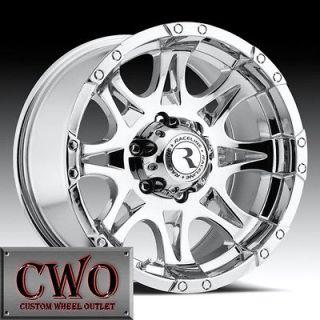 20 Chrome Raceline Raptor Wheels 8x165.1 8 Lug Chevy GMC 2500HD Dodge
