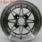 15X7 ROTA SA RACING WHEELS 4X100MM RIMS +40 FITS CIVIC INTEGRA XB CRX