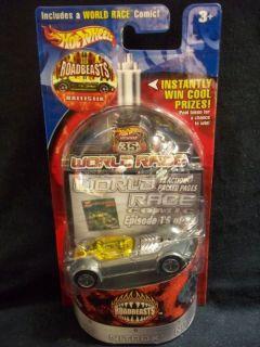 hot wheels 2003 WORLD RACE #15 BALLISTIC ZAMAC #1614