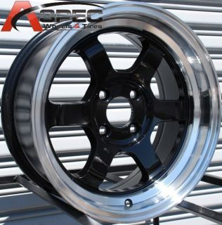 ROTA GRID V 15X7 4X100 ET20 67.1 ROYAL BLACK WHEELS