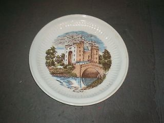 Carrigaline Pottery Co Ltd CORK IRELAND Bunratty Castle Plate
