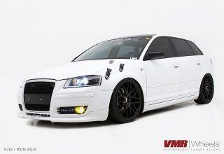 19 VMR V718 Matte Black Wheels Rims Fit Audi A3 A6 C6 Chassis TT MKII