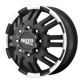 MOTO METAL MO963 DUALLY FRONT MO96366087799 16X6 99MM 8X170 M BLACK