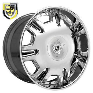 26 Lexani Wheels Radiant Chrome Rim 315/40/26 Pirelli Tires 8 lug