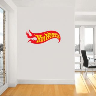 Hot Wheels Racing Nascar Racing Wall Sticker Decor Decoration Interior