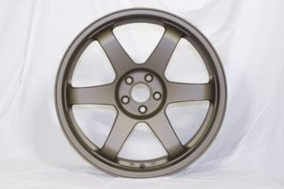 Rota GRID 19x8.5 5x100 et32 Matt Bronze VW Golf MK4 Audi TT