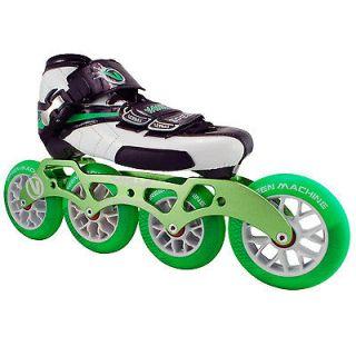 Vanilla Green Machine Inline Skates   Green Machine Inline Speed Skate