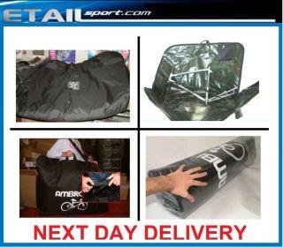 PADDED BIKE BAG   TRAVEL CYCLE BICYCLE BOX BAG TRANSPORT UK CASE