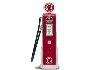 MOHAWK GASOLINE VINTAGE GAS PUMP DIGITAL 1/18 SCALE
