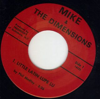 REPRO NC garage Mike & The Dimensions (( Listen )) Little latin lupe