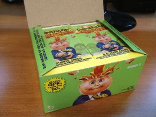 2011 Garbage Pail Kids Flashback 3 – Full 24 Pack Box – All Gold