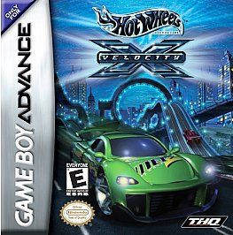 Hot Wheels Velocity X Nintendo Game Boy Advance, 2002